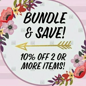 10% off 2 items or more in my store!!